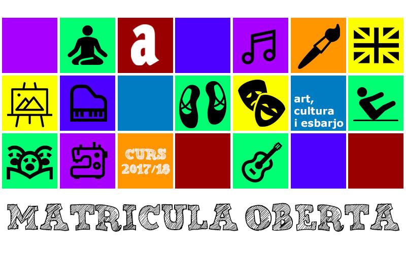 Matrícula Oberta curs 2017/18